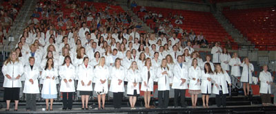 White Coat Ceremony, Class of 2011