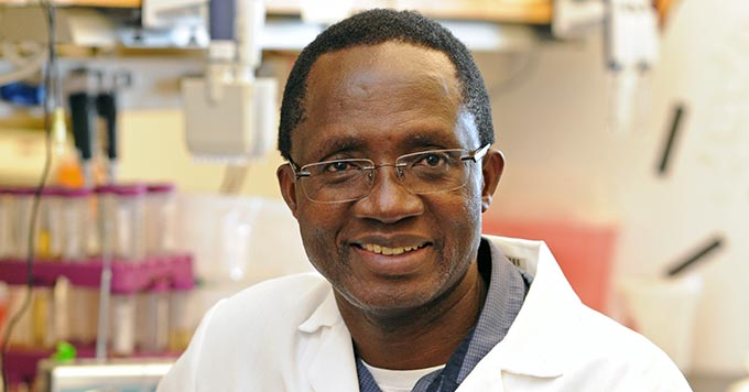 Dr. Kariuki Njenga is the director for WSU Global Health-Kenya. Photo by Henry Moore Jr.