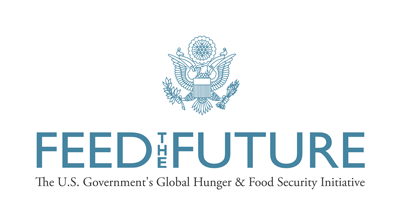 Feed the Future: The US Government's Global Hunger & Food Security Initiative logo